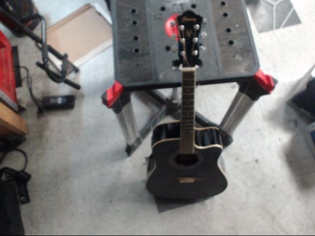 IBANEZ Electric-Acoustic Guitar V70CE-BK-2Y-01