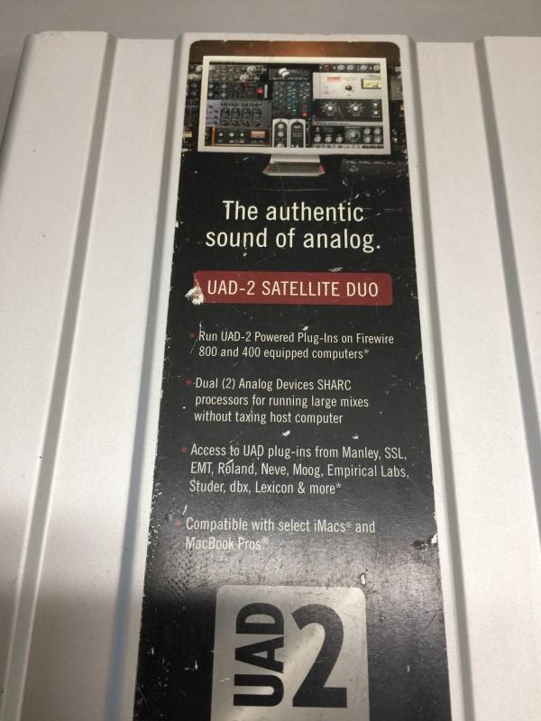 UNIVERSAL AUDIO UAD-2 SATELLITE DUO FLEXI FIREWIRE INTERFACE