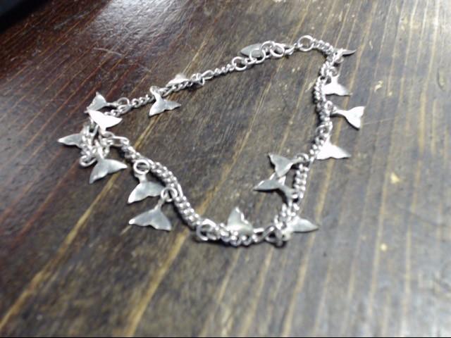 "10"" Silver Bracelet 925 Silver 8.7g"