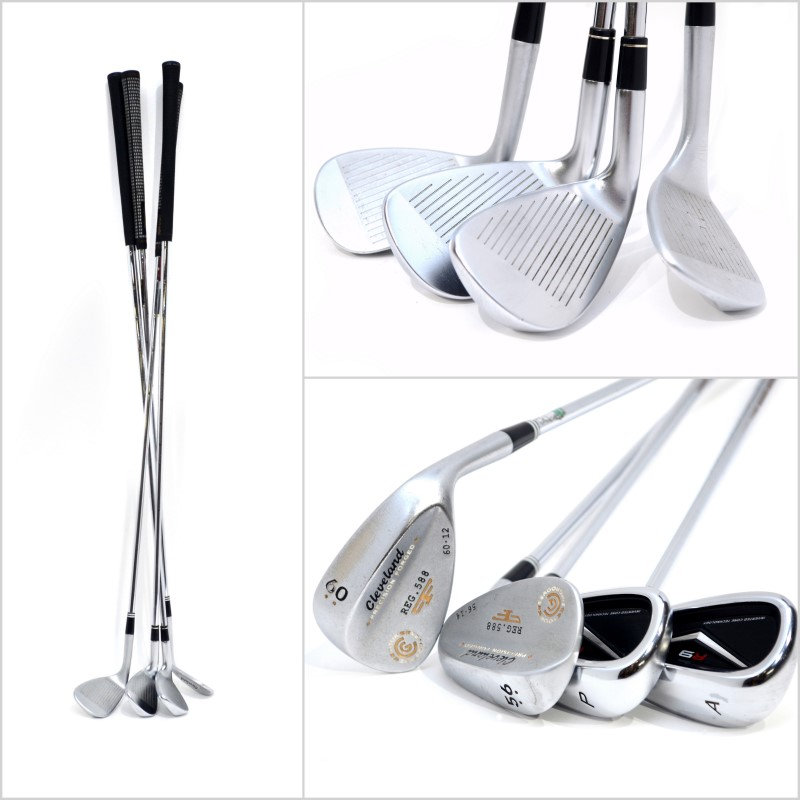 TaylorMade R9 Iron Golf Club Set 4-AW RH Reg Flex + Bonus Wedges>
