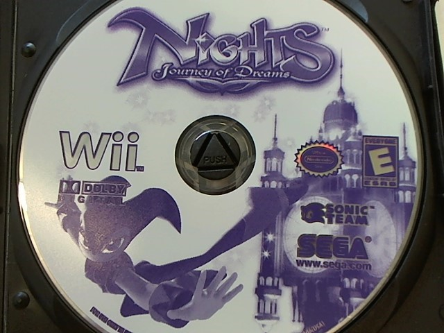 WII - NIGHTS JOURNEY OF DREAMS