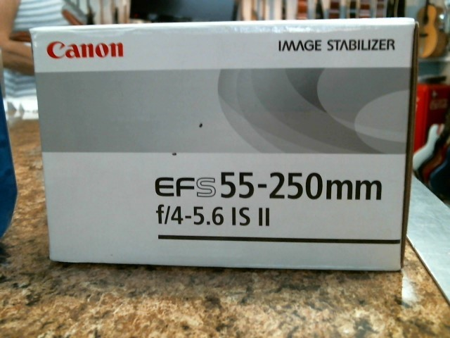 CANON Lens/Filter EFS 55-250MM F/4-5.6 IS II