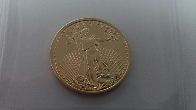 UNITED STATES Gold Coin 2016 1/4 OZ AMERICAN EAGLE