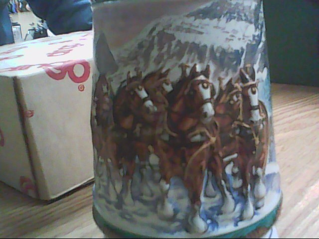 1993 BUDWEISER HOLIDAY MUG