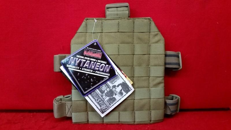 Blackhawk 37cl39ct Strike Drop Leg MOLLE Gear Platform Nylon Coyote Tan