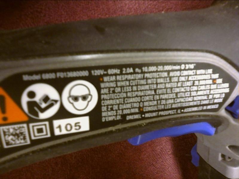 DREMEL Spiral Cut Saw TRIO 6800