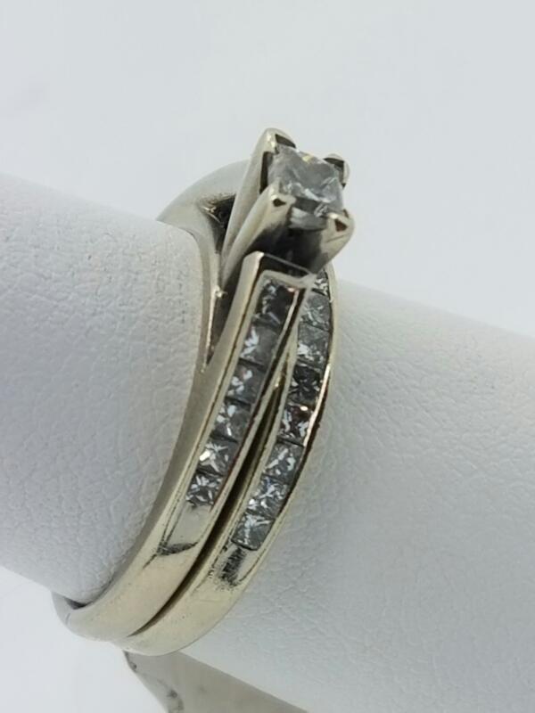 DIAMOND  WEDDING SET L'S 14KT DIAMOND  2.9DWT/14KWG