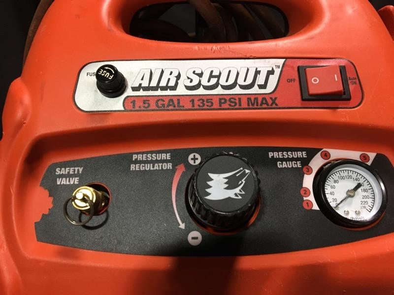 HUSKY TOOLS Air Compressor 135 PSI 1.75 GAL