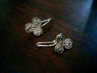 Gold Earrings 10K Yellow Gold 1.4g