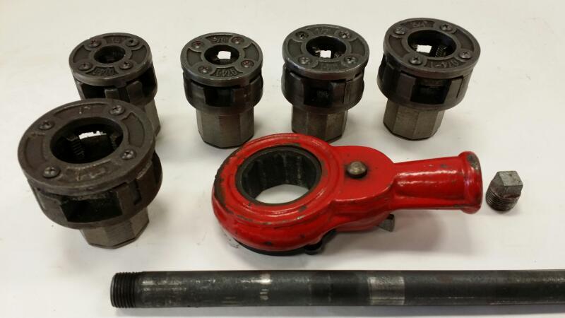 """Swordfish Pipe Threader Tool Q74-T 1/4"""" 3/8"""" 1/2"""" 3/4"""" 1"""""""
