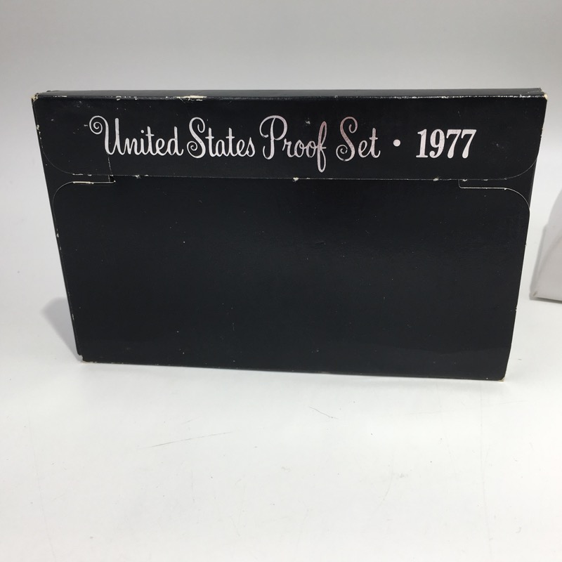1977 S United States Proof Set - Six Coins - In Mint Box