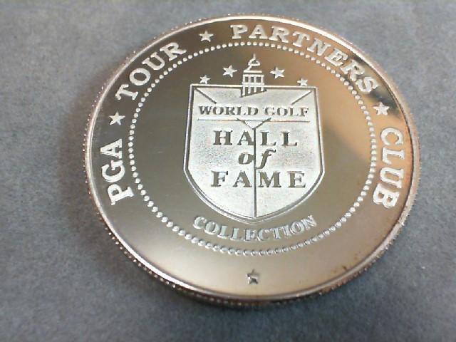 1oz. .999 Silver PGA TOUR PARTNERS CLUB Payne Stewart Hall of Fame 2001
