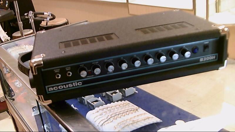 ACOUSTIC BASS AMP B200H