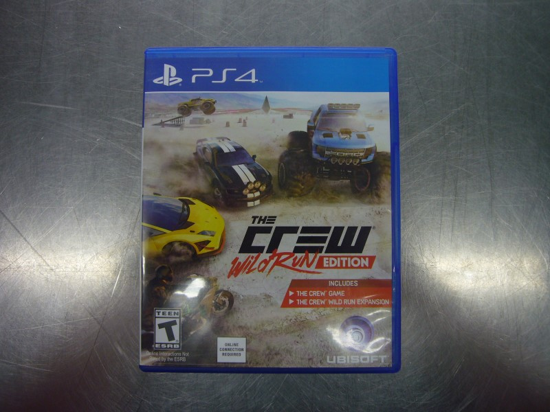 SONY PlayStation 4 Game PS4 THE CREW WILD RUN EDITION