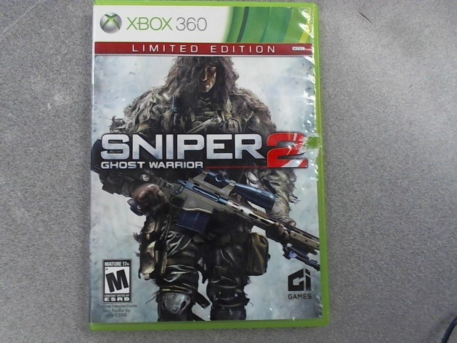 MICROSOFT Microsoft XBOX 360 Game SNIPER 2 GHOST WARRIOR - XBOX 360