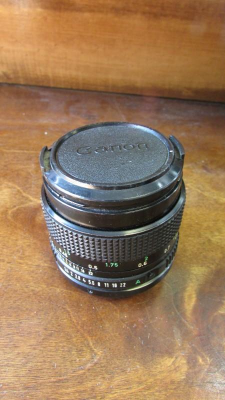 CANON Lens/Filter 50MM 1:1.4