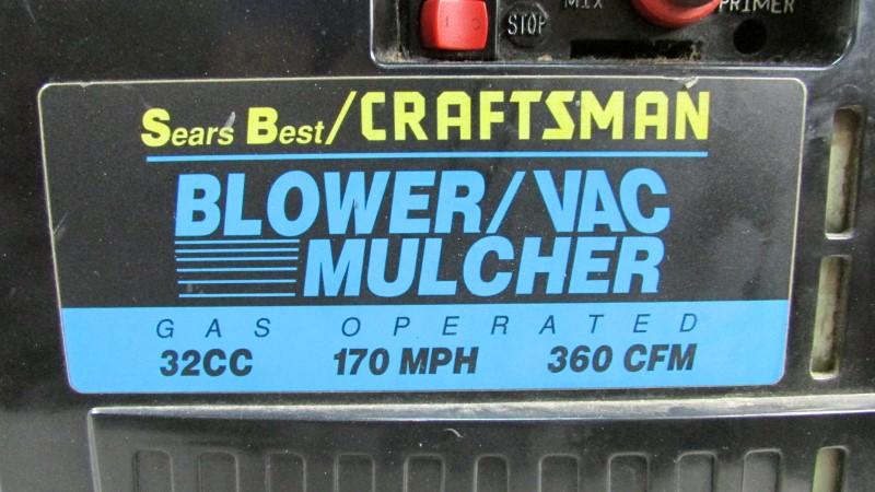CRAFTSMAN Leaf Blower BLOWER 358.794940