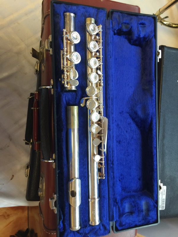 ACCORD ELKHART,IND USA Flute SILVER PLATED FLUTE