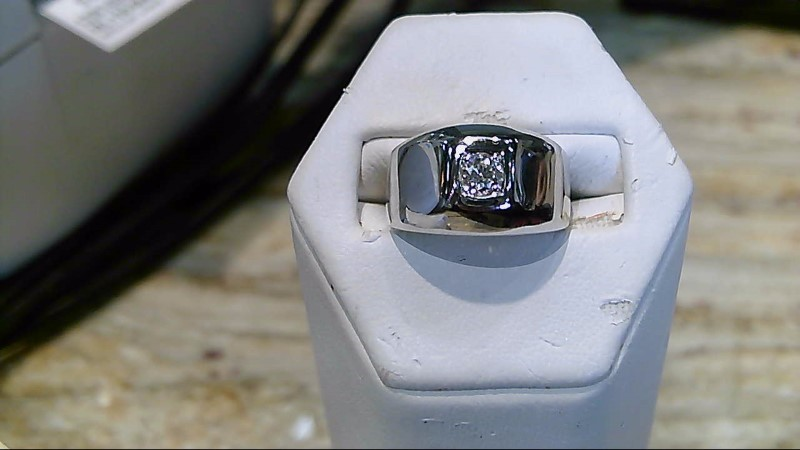 14K Lady's Diamond Solitaire Ring .20 CT. 14K White Gold 10.6g