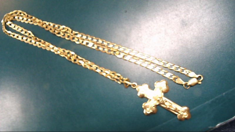 Gold Fashion Chain 14K Yellow Gold 12.5g