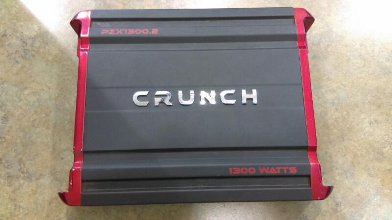 Crunch PZX1300.2 Class AB 2-Channel 1300W