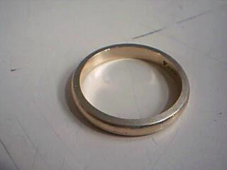 Lady's Gold Wedding Band 14K Yellow Gold 2.7g Size:5