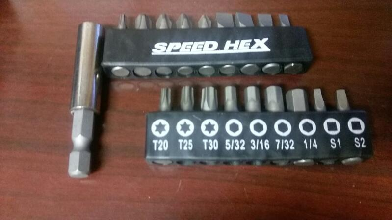 FLIPOUT SPEED HEX SCREWDRIVER MODEL FOSH2014 SET