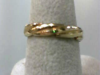 Lady's Gold Wedding Band 14K Yellow Gold 2dwt Size:6.5