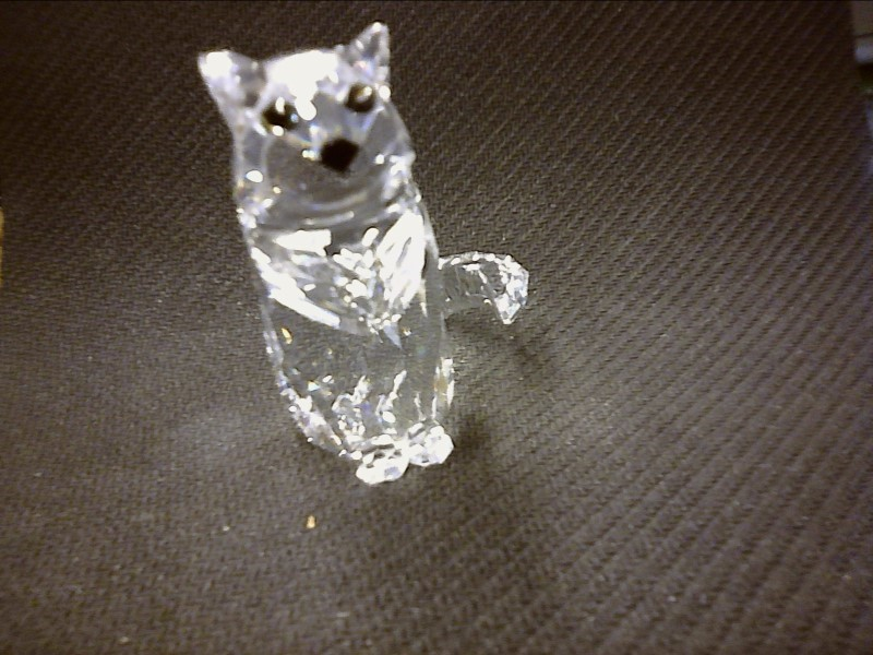 SWAROVSKI Glass/Pottery CAT SITTING 7634046000