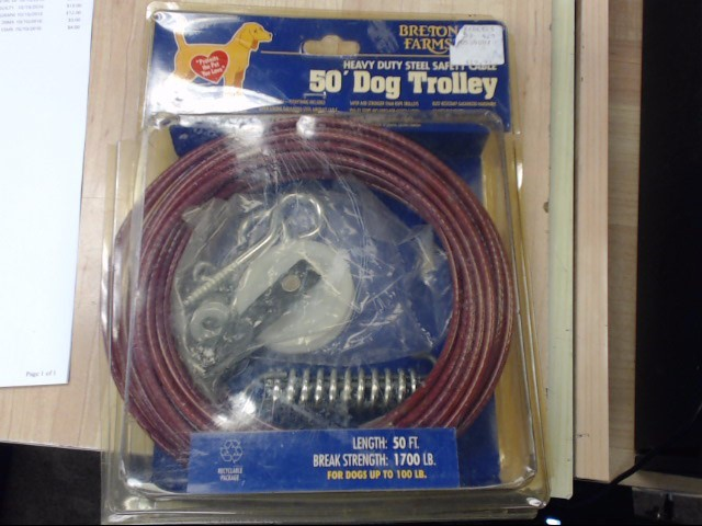 BRENTON FARMS DOG TROLLEY 50'