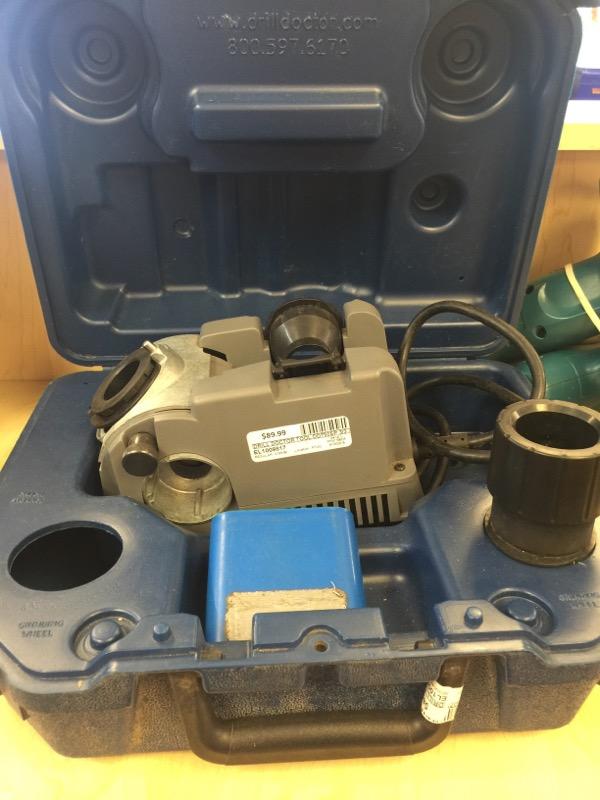 DRILL DOCTOR Miscellaneous Tool DD750SP 3/32-3/4 DRILL BIT SHARPENER