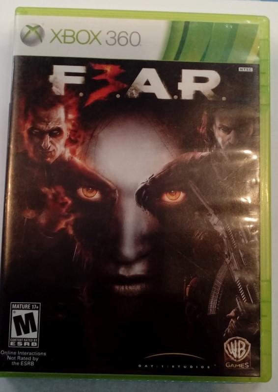 MICROSOFT XBOX 360 Game FEAR 3