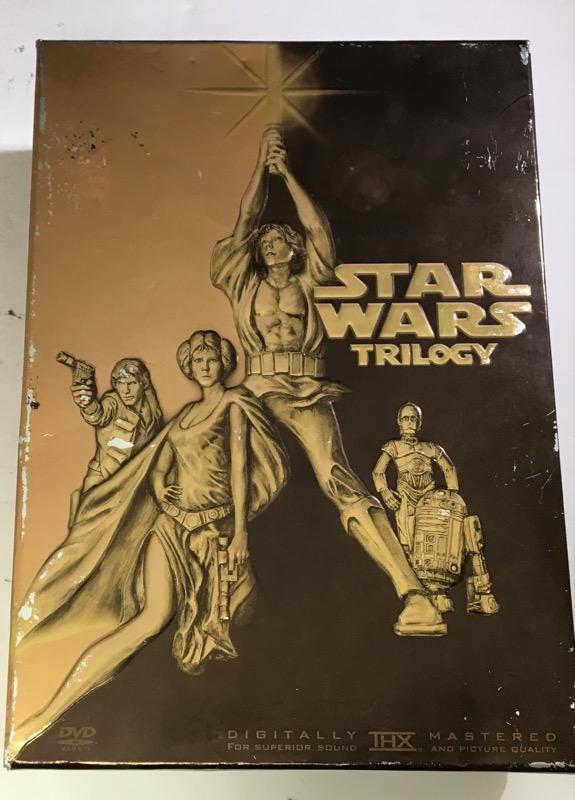 DVD STAR WARS TRILOGY (2004)