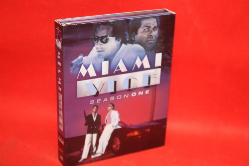 Miami Vice - Season 1 (DVD, 2005, 3-Disc Set) (Free Shipping)