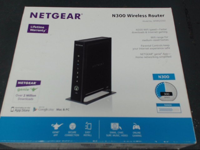 NETGEAR Modem/Router N300 WIRELESS ROUTER