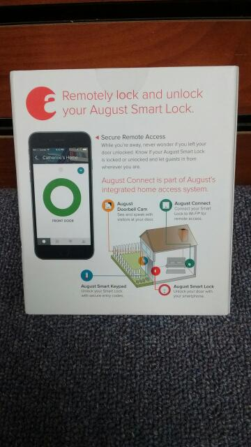 AUGUST ADAPTER WHITE SMART LOCK AUG-AC02 *BRAND NEW UNOPENED*