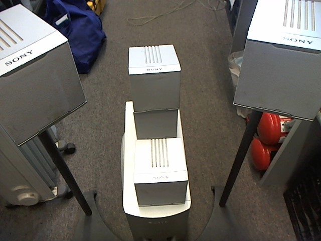 SONY 5 SPEAKERS WITH SUBWOOFER