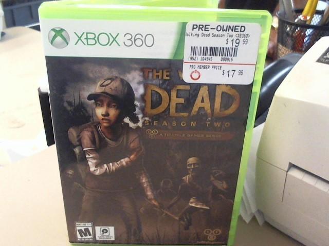 THE WALKING DEAD-XBOX 360
