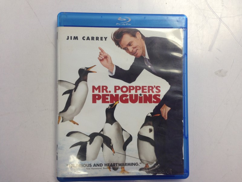 Mr. Poppers Penguins (Blu-ray/DVD, 2011)