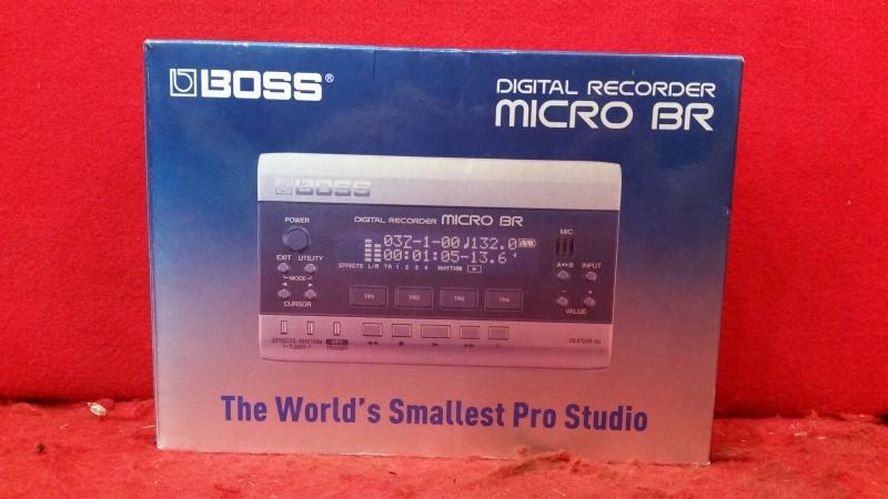 Boss Micro BR 4-track MicroBR Digital Pocket Studio Recorder