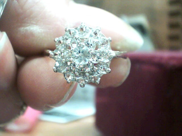 Lady's Silver Ring 925 Silver 1.7dwt