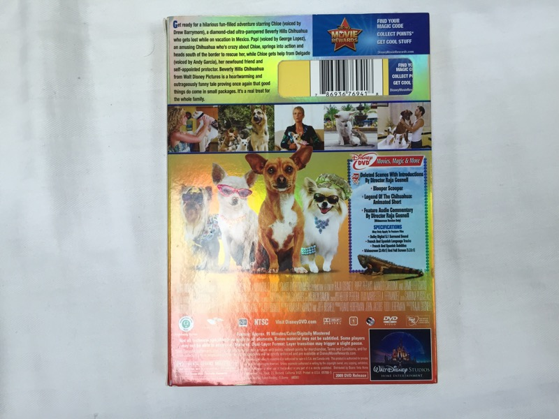 Beverly Hills Chihuahua (DVD, 2009)