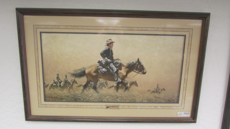 FRANK MCCARTHY - ARTIST Print AFTER THE DUST STORM