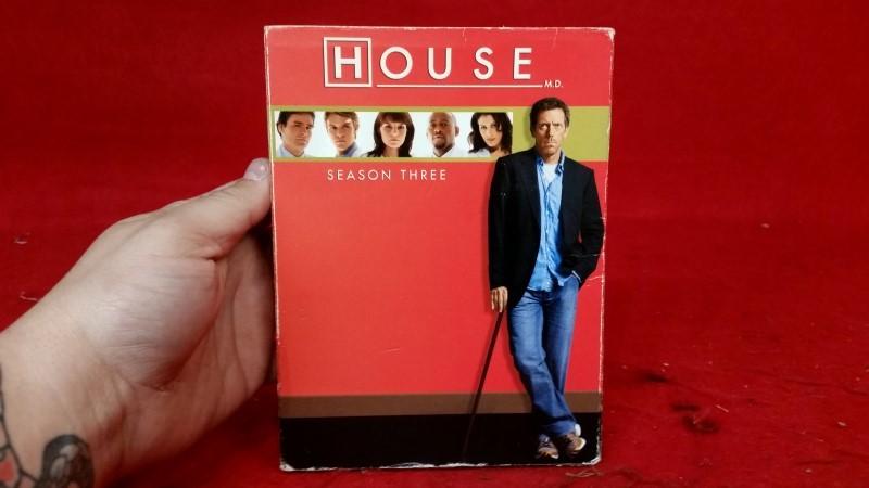 House - Season Three (DVD, 2007, 5-Disc Set)