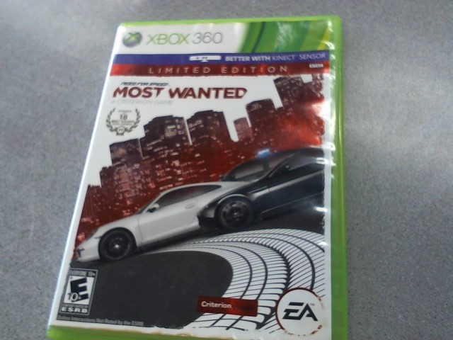 MICROSOFT Microsoft XBOX Game NEED FOR SPEED MOST WANTED