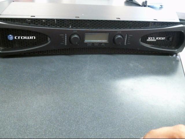 CROWN ELECTRIC Amplifier XLS1002