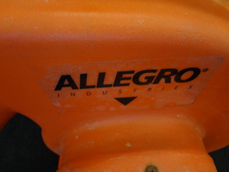 ALLEGRO 9504 CONFINED SPACE BLOWER, CENTRIFUGAL, 1/3 HP WITH TWO HOSES IN CB BOX