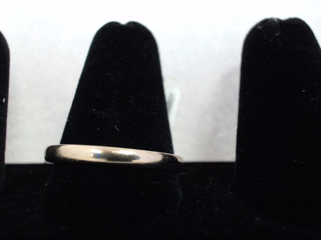 Gent's Gold Wedding Band 14K Yellow Gold 1.8g