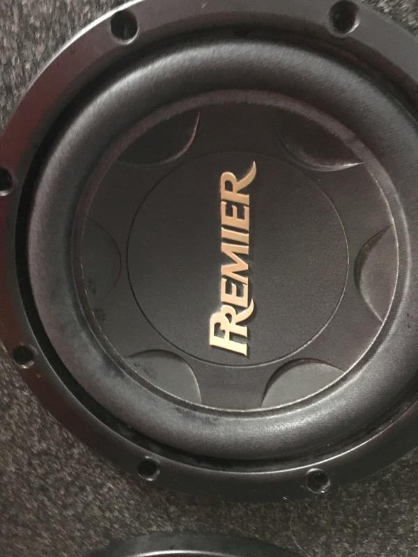 """PREMIER CAR AUDIO Speakers/Subwoofer 12"""" SUBWOOFER"""