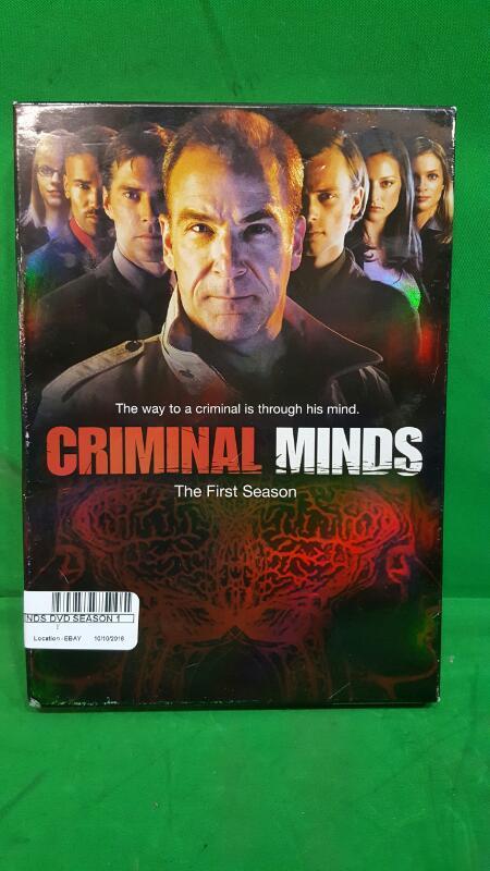 Criminal Minds - The Complete First Season (DVD, 2006, 6-Disc Set)